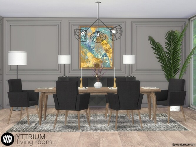 Yttrium Dining Room by wondymoon