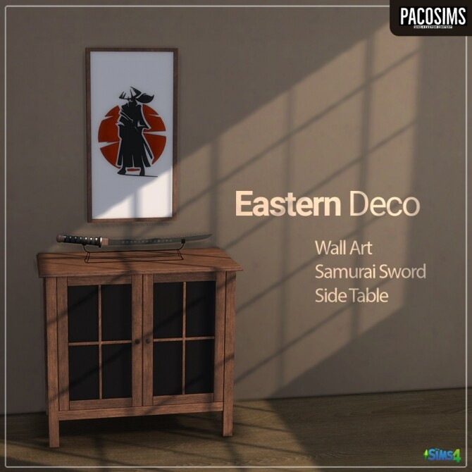 Sims 4 Eastern Deco (P) at Paco Sims