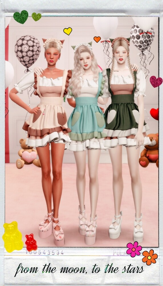 MY BIRTHDAY PRESENT: dress & hat at RIMINGs image 13819 571x1000 Sims 4 Updates