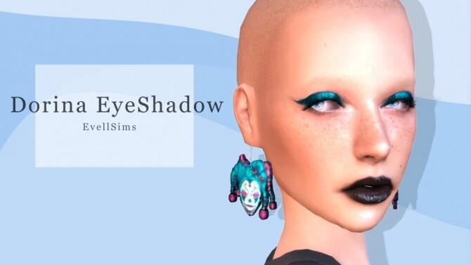 Sims 4 Dorina Eyeshadow at EvellSims