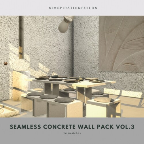 Seamless Concrete Wall Pack Vol3