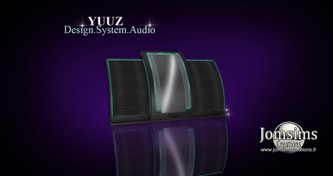 Sims 4 YUUZ HI FI Audio System at Jomsims Creations