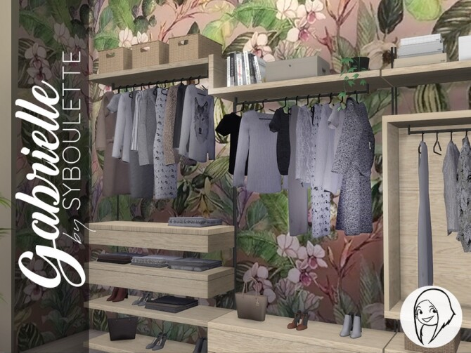 Gabrielle Dressing Closet by Syboubou at TSR image 1400 670x503 Sims 4 Updates