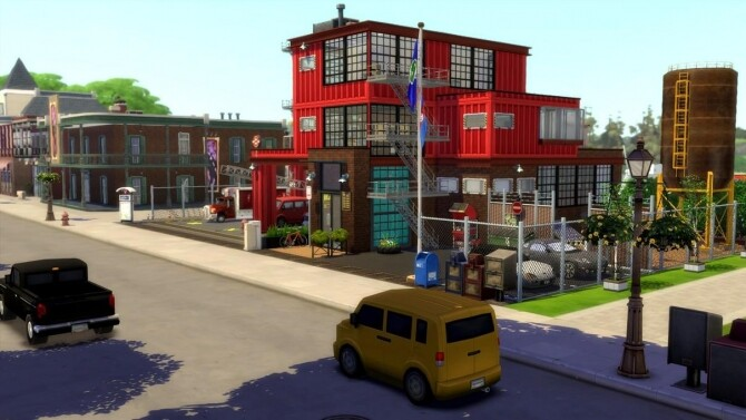 Fire and Rescue Station by chipie-cyrano
