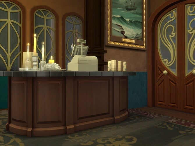Candle Shop by Ineliz at TSR image 1420 670x503 Sims 4 Updates