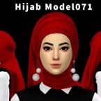 Hijab Model 071 and Deluna Longdress