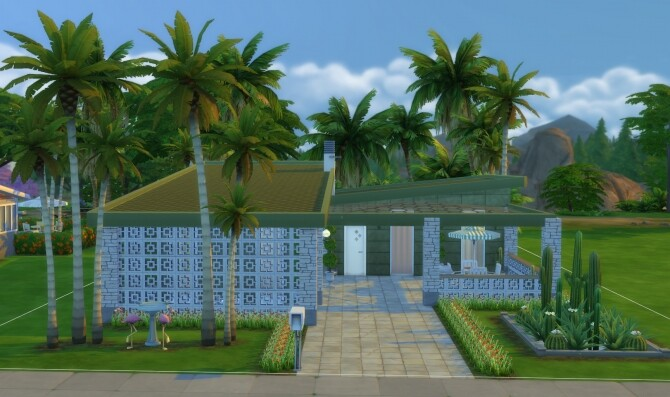 Sims 4 The Mulholland Drive Modern Home by DominoPunkyHeart at Mod The Sims