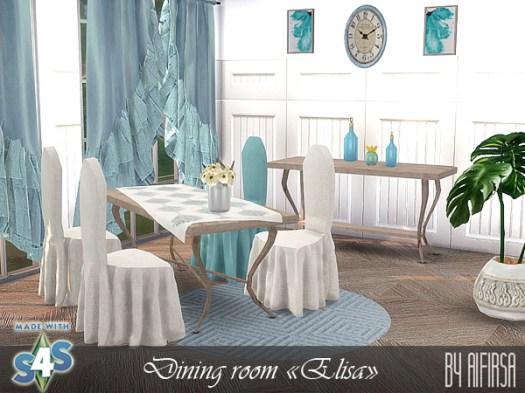 Elisa dining room at Aifirsa image 14316 Sims 4 Updates