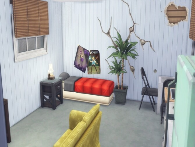 Trailer Park NoCC by LilaBlau at TSR image 1440 670x503 Sims 4 Updates