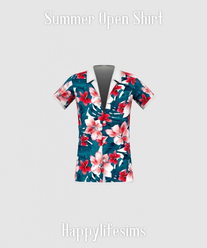 Summer Street Fashion Set at Happy Life Sims image 14410 670x804 Sims 4 Updates