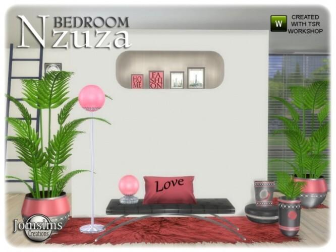 Nzuza bedroom decor set by  jomsims