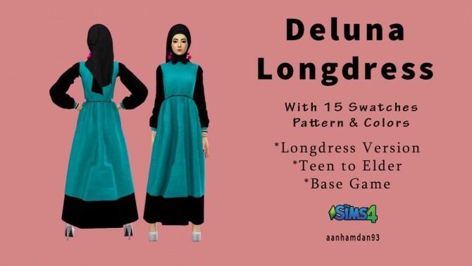 Hijab Model 071 & Deluna Longdress at Aan Hamdan Simmer93 image 14418 670x377 Sims 4 Updates