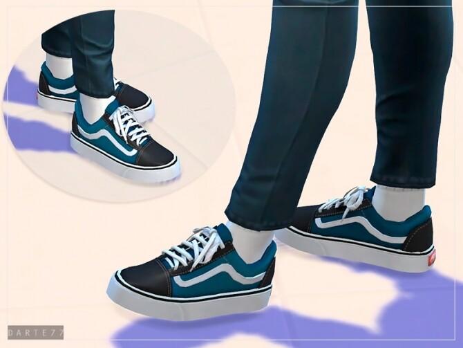 Sims 4 Vans Old Skool For Females by Darte77 at TSR