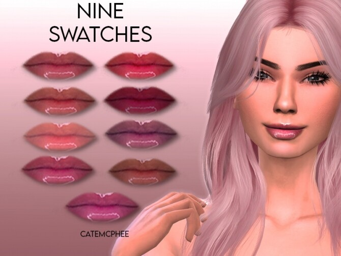 Sims 4 LS 02 Hilary Gloss by catemcphee at TSR