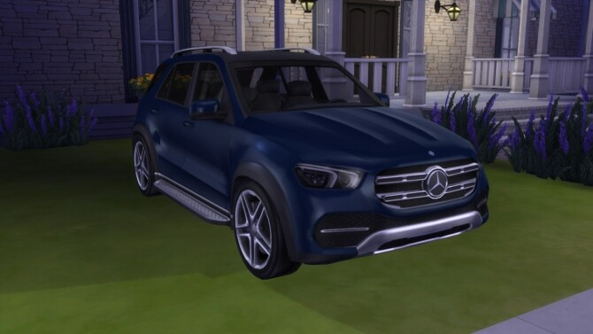 Sims 4 Mercedes Benz GLE at LorySims