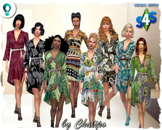Eco dress bunt by Chalipo
