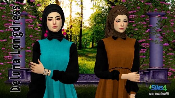 Hijab Model 071 & Deluna Longdress at Aan Hamdan Simmer93 image 14517 670x377 Sims 4 Updates