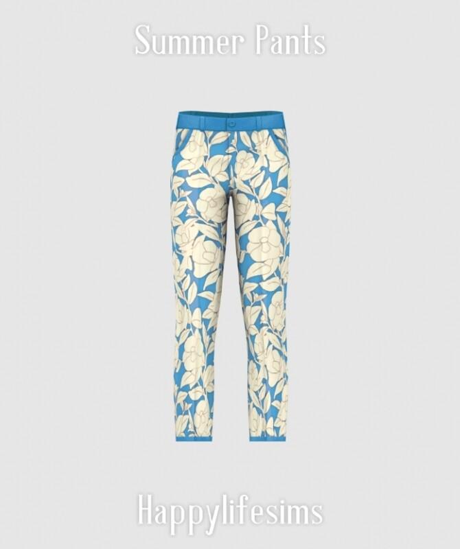 Summer Street Fashion Set at Happy Life Sims image 1459 670x800 Sims 4 Updates