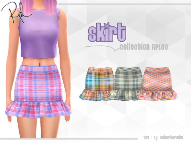 Skirt Collection RPL80 by RobertaPLobo at TSR image 1460 670x503 Sims 4 Updates