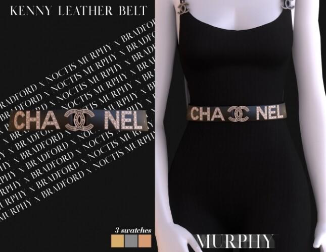 Kenny Leather Belt