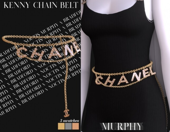 Kenny Chain Belt