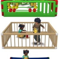 Toddler Playpens by Sandy