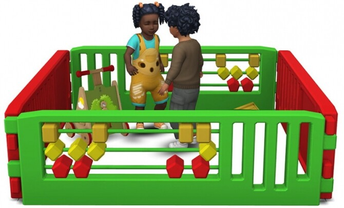 Toddler Playpens by Sandy at Around the Sims 4 image 1482 670x405 Sims 4 Updates
