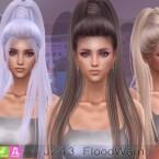 J243 FloodWarn hair by Newsea Sims 4