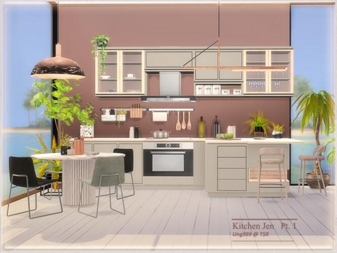 Kitchen Jen Part 1 by ung999