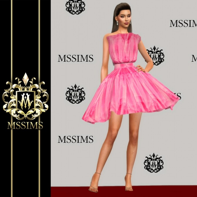 Sims 4 LONG & SHORT GOWN (P) at MSSIMS