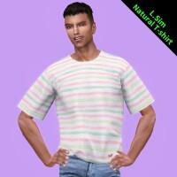 Natural T-shirt M