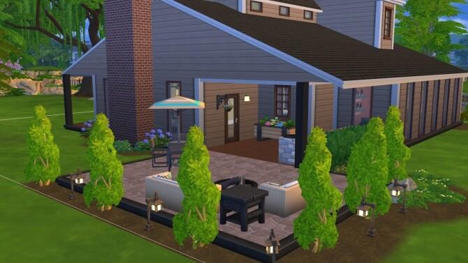Sims 4 Bainbridge house by SimplySimlish at Mod The Sims