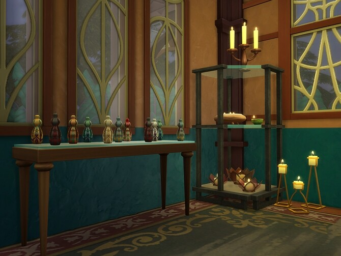 Candle Shop by Ineliz at TSR image 1518 670x503 Sims 4 Updates