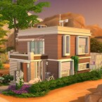 Oasis Spring Solar House by Caradriel