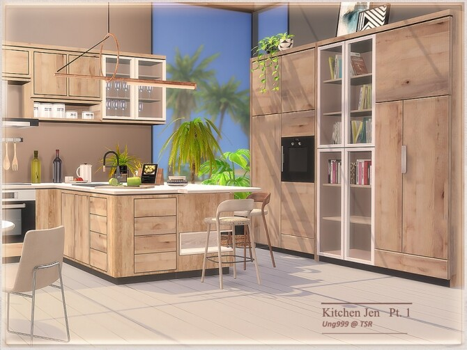 Sims 4 Kitchen Jen Part 1 by ung999 at TSR