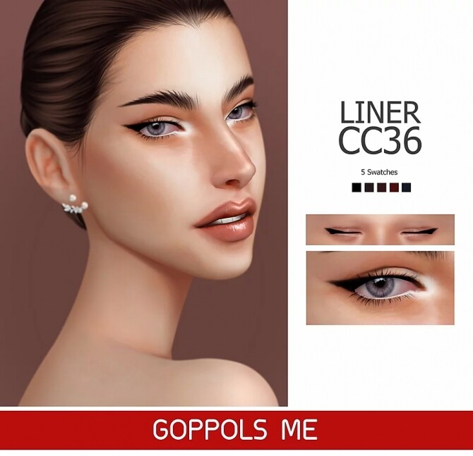 GPME Liner cc36 at GOPPOLS Me image 1549 670x647 Sims 4 Updates