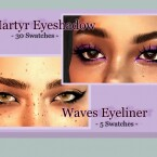 Martyr Eyeshadow Waves Eyeliner Hypermania Pants