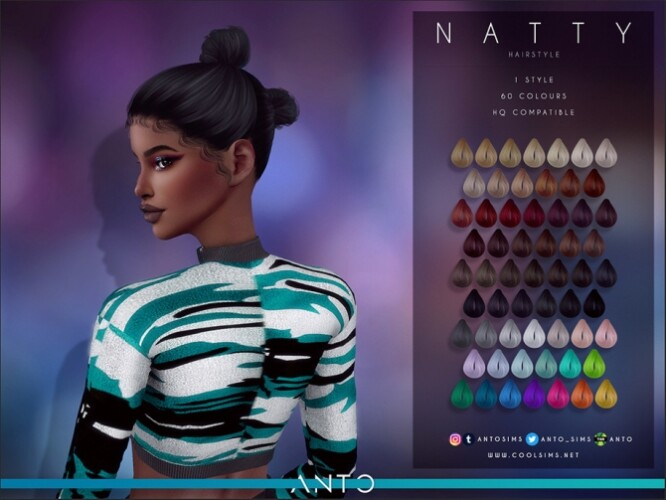 Natty Hairstyle by Anto
