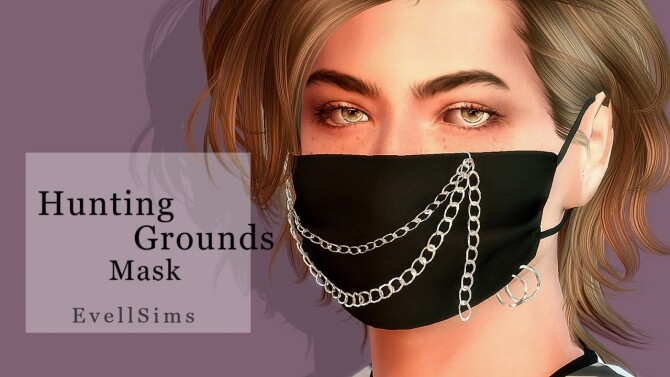 Sims 4 Hunting Grounds Mask at EvellSims