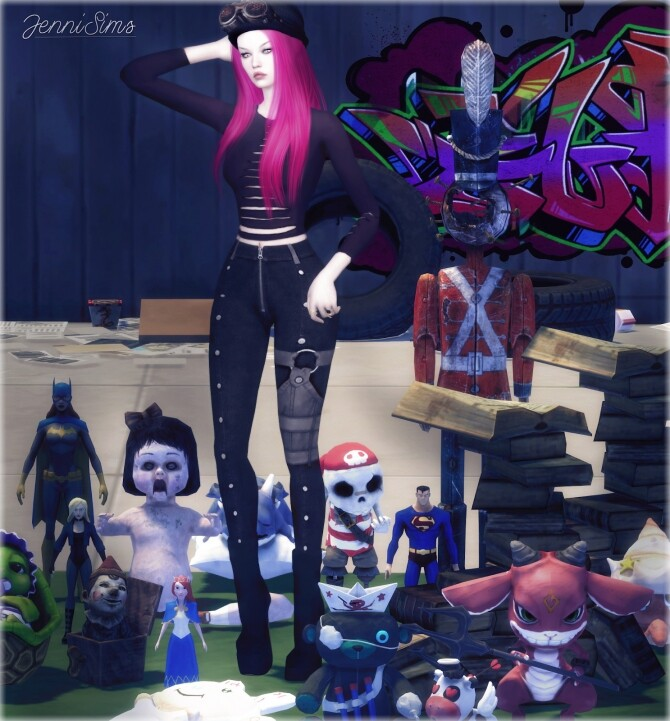 CLUTTER DECORATIVE 16 ITEMS at Jenni Sims image 1564 670x721 Sims 4 Updates