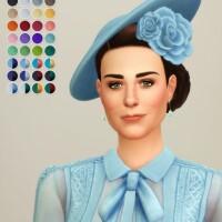 Duchess of Blue Hat