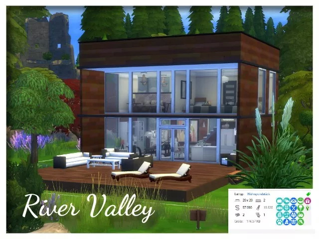 River Valley house by Oldbox