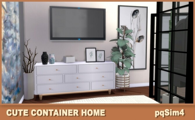 Cute Containers Home at pqSims4 image 1593 670x414 Sims 4 Updates