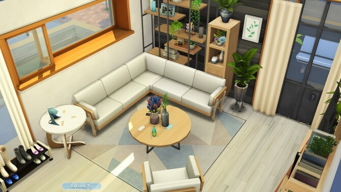 Sims 4 PINECREST APARTMENTS #404 at Aveline Sims