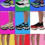 Recolor BRADFORD Berthelot Sneakers