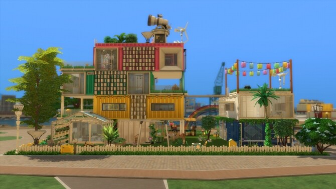 Rainbows House No CC by mamba black at Mod The Sims image 16116 670x377 Sims 4 Updates