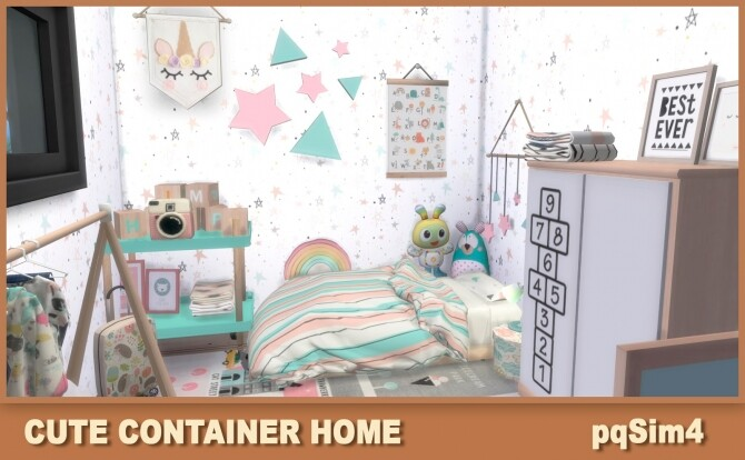 Cute Containers Home at pqSims4 image 1616 670x414 Sims 4 Updates