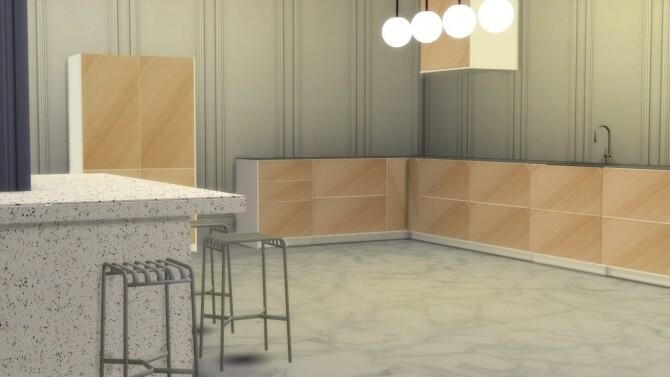 Sims 4 DEGREE KITCHEN at Meinkatz Creations