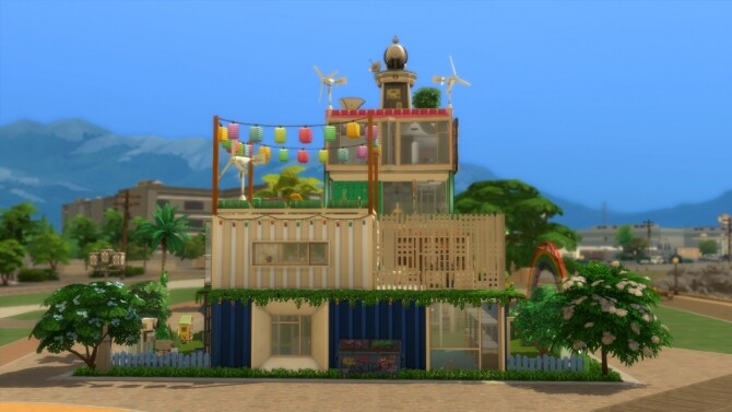 Rainbows House No CC by mamba black at Mod The Sims image 16212 670x377 Sims 4 Updates