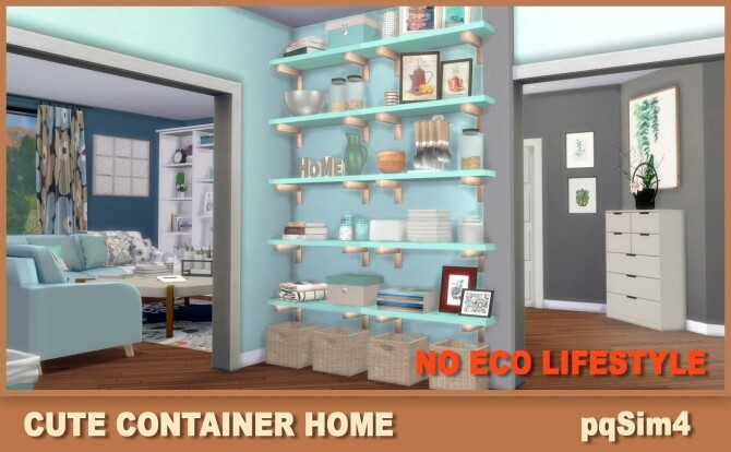 Cute Containers Home at pqSims4 image 1624 670x414 Sims 4 Updates